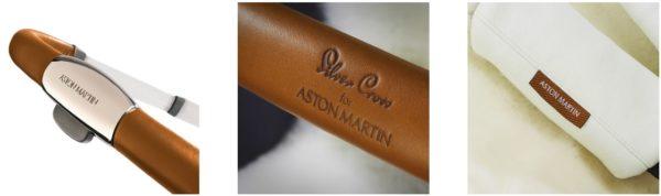 Silver Cross Aston Martin - detale
