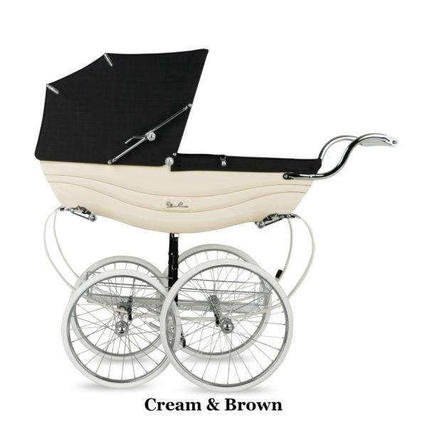 Silver Cross Balmoral - Cream&Brown
